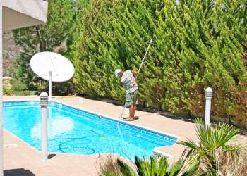 Automation and setting of pool heater