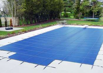 Installation Of Solar Pool Cover